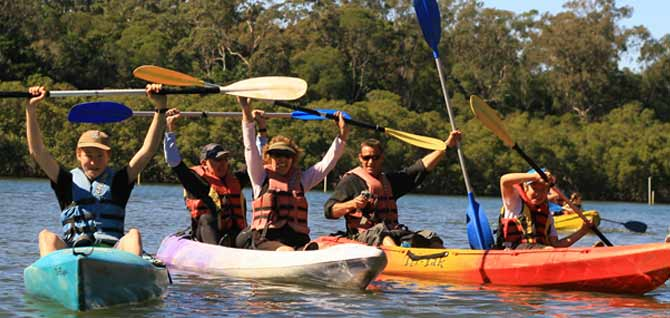 Byron Bay Eco Cruises and Kaaks