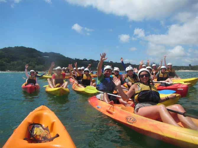 Kayaking Byron Bay