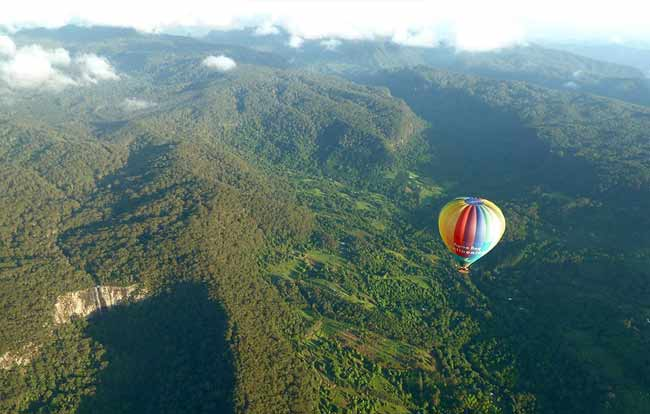 Flying over Byron Hinterland